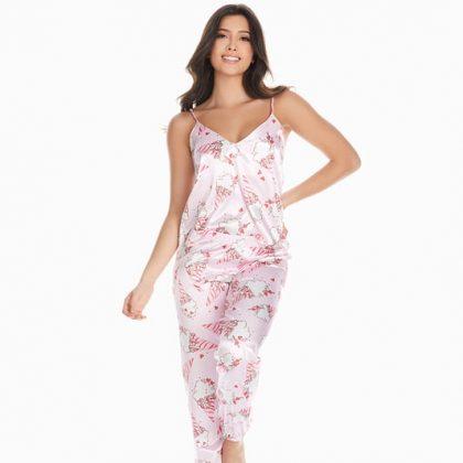 Pijama Candy pantalón satinado